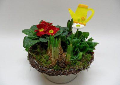 Bepflanzte Schale e